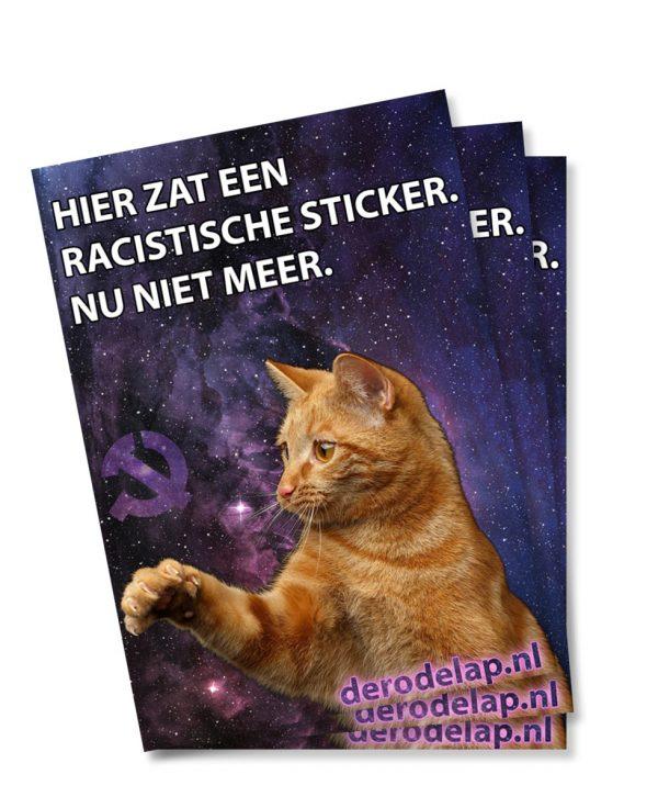 antifa kat sticker